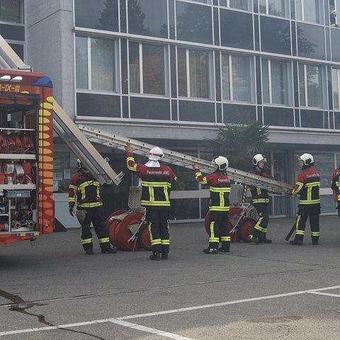 Hauptübung der Feuerwehr AMG 2015